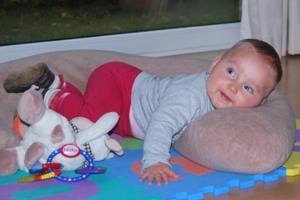 komfortowa poduszka dla dziecka