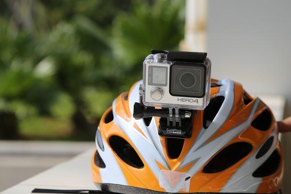 mała kamera sportowa na rower